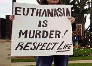 Euthanasia. should it be practised?